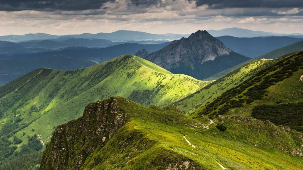 Гряда гор