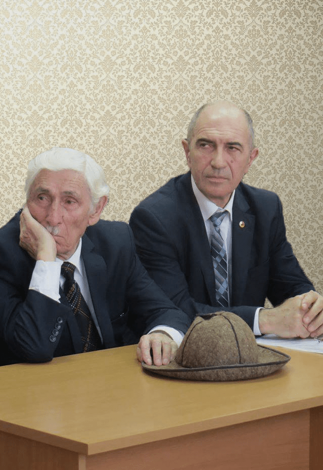 Нафи Джусоев и Коста Дзугаев
