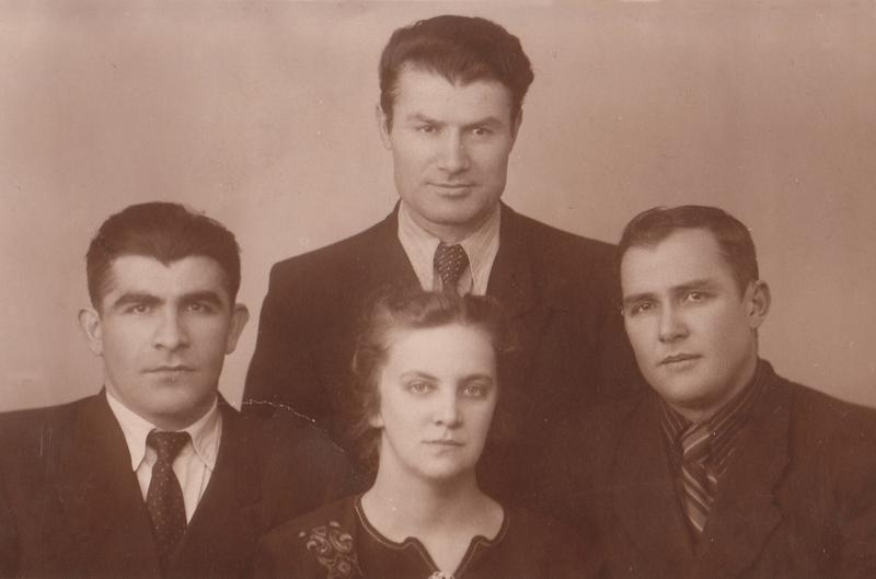 Видные представители интеллигенции Южной Осетии