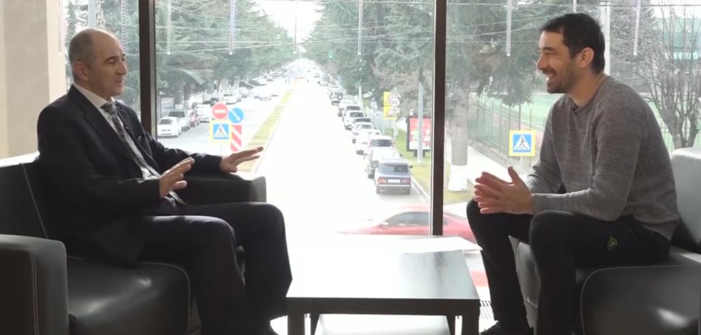Коста Дзугаев и Гри Мамиев